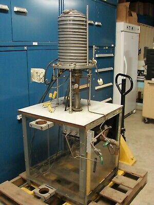 Bell Jar Vacuum Deposition Crystal Growth Chamber For Parts