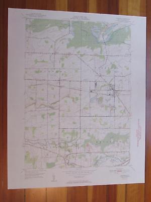 Oakfield New York 1952 Original Vintage USGS Topo Map