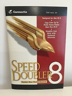 Speed Doubler 8 for Mac OS User Manual for sale  Shipping to South Africa