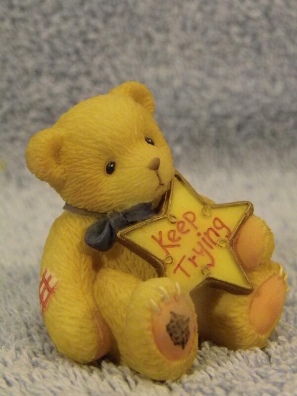 Keep Trying #477419~Cherished Teddies NIB
