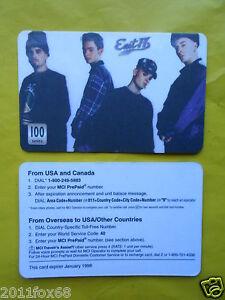 cartes-telephone-1998-phone-cards-100-units-east-17-east-seventeen-telefonkarten