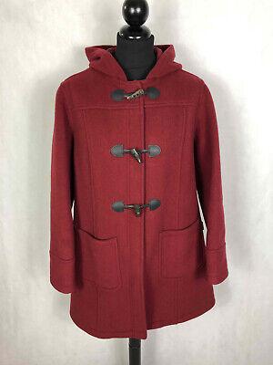 LONDON TRADITION Montgomery Cappotto Donna Lana Cappuccio Woman Coat Sz.XL - 48
