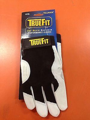 Tillman 1470l Truefit Mechanics Gloves Large Goatskin