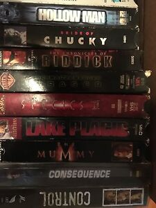 140 VHS Movies, film of year, action ask 1.00 or BO takes all London Ontario image 7