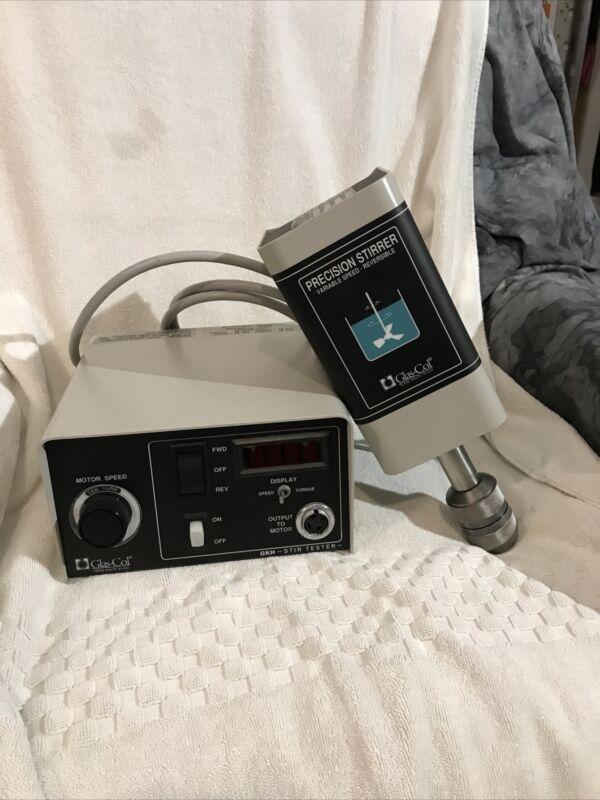Glas Col Stirrer & GKH Stir-Tester Controller. High Torque 099D HST1006