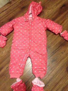 12-18 month snow suit