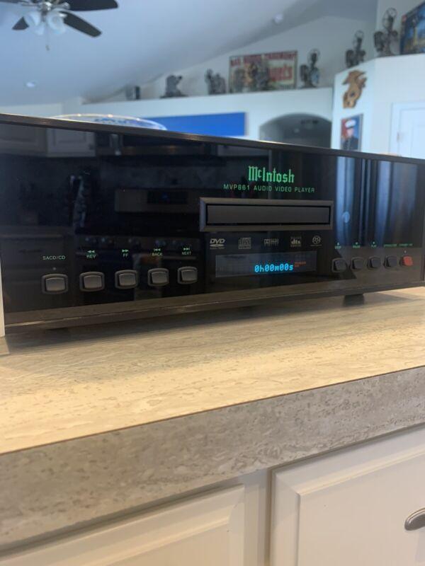 McIntosh MVP861 Audio Video Player W/manual And Original Receipt!