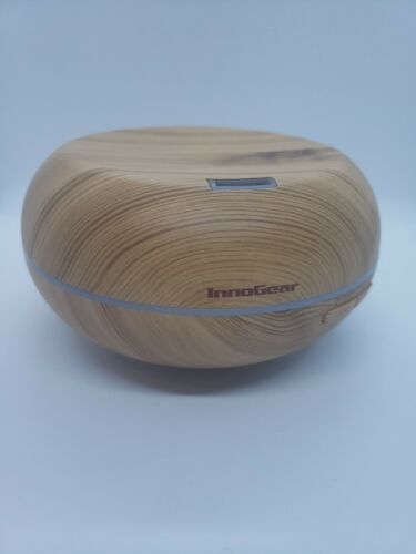 InnoGear Aromatherapy Essential Oil Diffuser Wood Grain Ultr