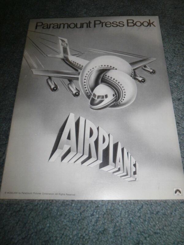 AIRPLANE(1980)ROBERT HAYS ORIGINAL PRESSBOOK