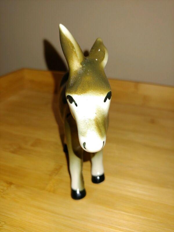 Vintage Donkey Statue
