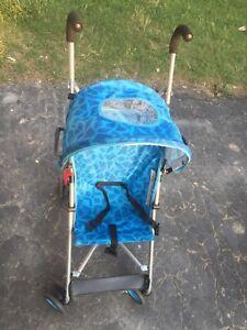 Blue stroller children