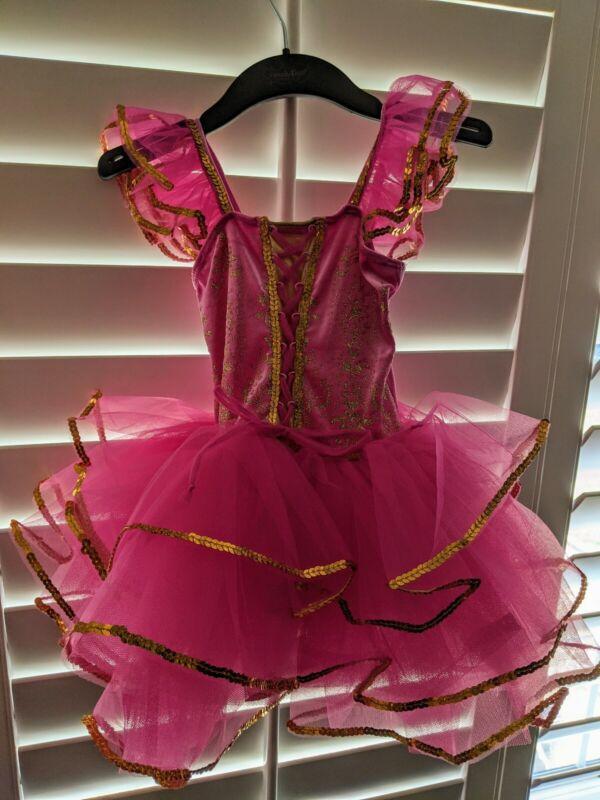 Revolution Dance wear LITTLE GIRLS SIZE XS TUTU BALLET