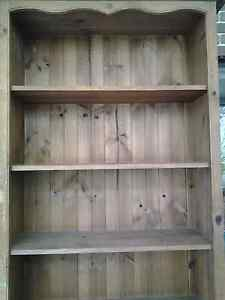 Large bookcase Made of solid wood In very good con. Has 6 shelves Normanhurst Hornsby Area Preview