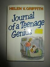 Journal Of A Teenage Genius By Helen V. Griffith Campbell North Canberra Preview