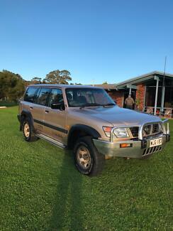 Nissan Patrol Walkabout wagon 4.2lt 6 cyl turbo diesel 1999