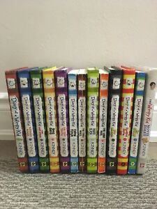 Dairy of a wimpy kid  12 books + movie book