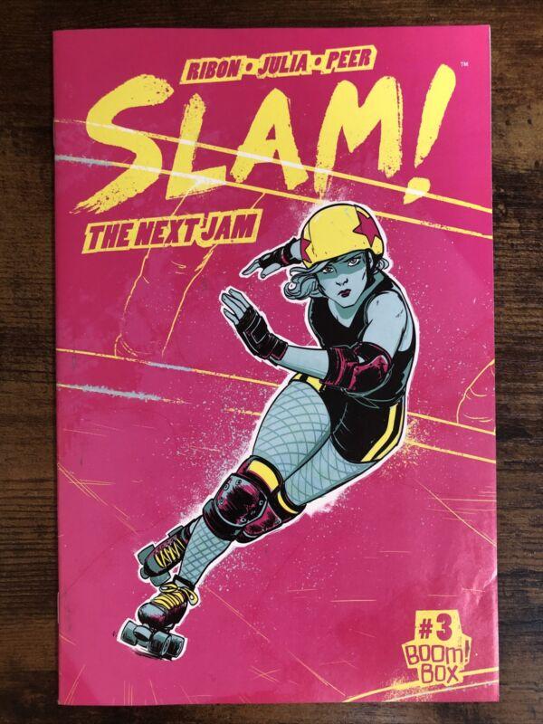 SLAM: THE NEXT JAM (2017 Series) #3 High Grade Comics Book. Boom! Box
