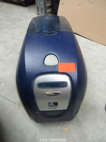 Zebra P120i LAN USB Double Sided Colour ID Card Printer DEFECT - DOES NOT PRINT