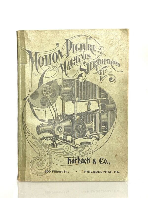 "+Vintage Original ""Motion Picture Machines, Stereopticons, Etc"" Catalog"