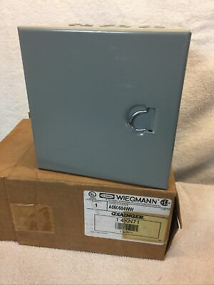 Hubbell Wiegmann Electrical Enclosure Box A060604ww 2488