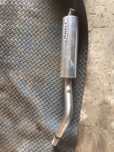 Hindle exhaust pipe off road and header