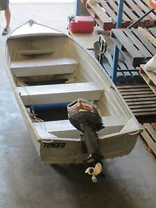 Awesome tinny with 15hp Yahaha outboard Coomera Gold Coast North Preview