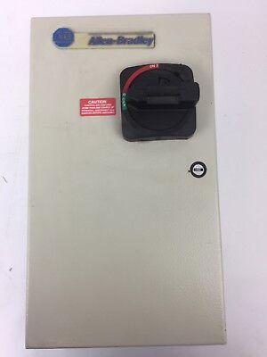 Allen Bradley 112-c09abda1e Combination Motor Controller Wdisconnect Switch