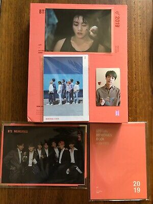 BTS Official Memories of 2019 (Jin photocard + Weverse gifts)