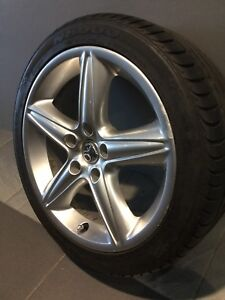 "HOLDEN COMMODORE VT/VX HSV MONARO 18"" GENUINE ALLOY WHEELS AND TYRES Carramar Fairfield Area Preview"