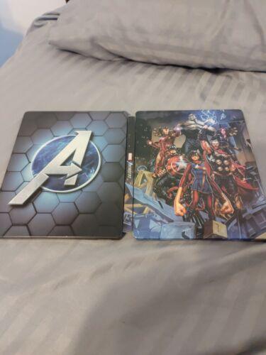 Marvel s Avengers Video Game 2020 Steelbook Case FREE SHIP - $18.00