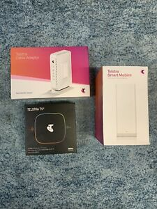 Telstra tv 3, smart modem and cable adaptor all brand new in box