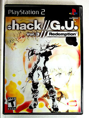 .Hack // GU Vol 3 (PS2) Game & Generic Cover - Clean,Tested & Fast Shipping