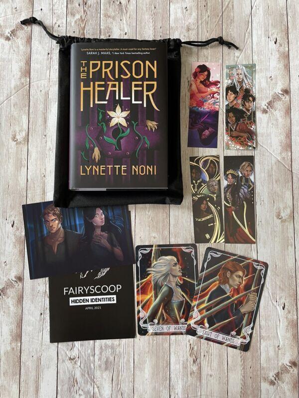 Fairyloot April Hidden Identities The Prison Healer