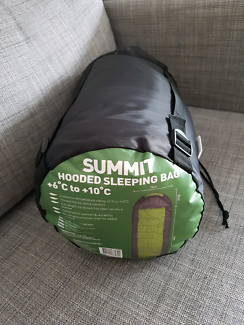 Summit Hooded Sleeping bag. Excellent condition.