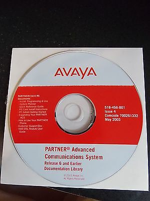 Avaya Partner Advanced Commications System Release 6 Documentaion Library