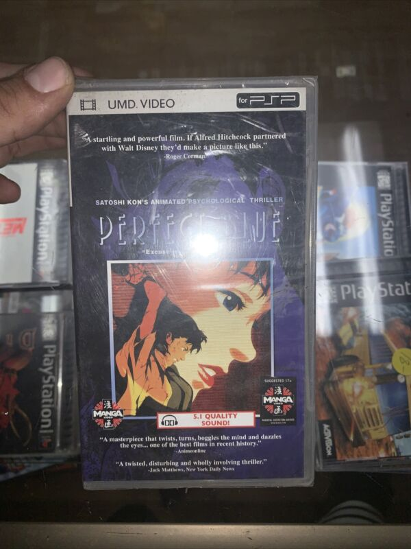 Perfect Blue UMD Movie Factory Sealed (Satoshi Kun) PSP [US Seller]