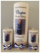 Christening/Baptism/naming day candles keepsake favour gift Dubbo Dubbo Area Preview