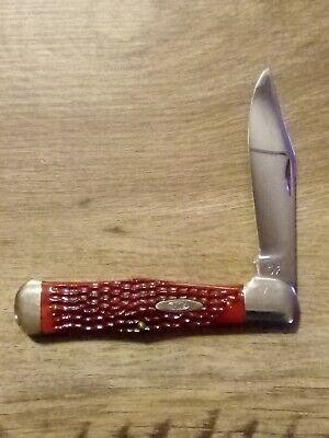 CASE XX- C61050SAB- Redbone Coke Bottle Folding Hunter Knife. Vintage.