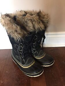 Sorel Joan of arctic leather boots $50