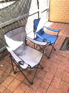 Two Camp Chair in good conditions