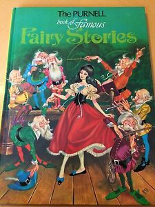 The Purnell Book Of Famous Fairy Stories, Vintage Fairy Tale Book From 1979