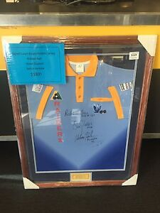 SIGNED RAIDERS LAWN BOWLS JERSEY B76932 Midvale Mundaring Area Preview