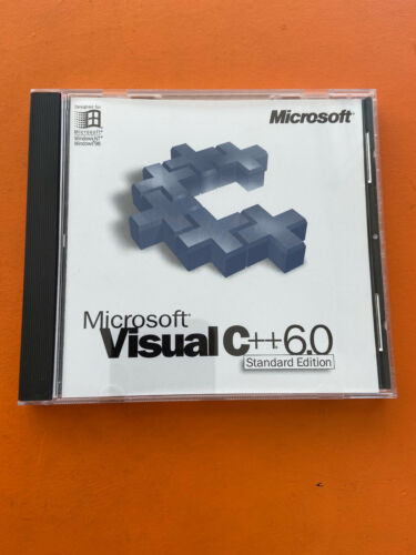 Microsoft Visual C++ 6.0 Standard Edition With MSDN Library