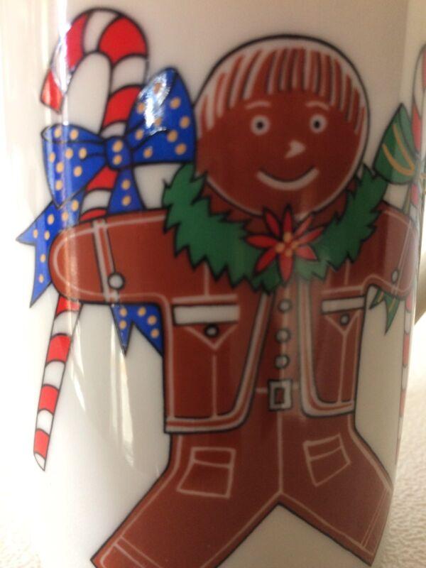 Otagiri Christmas Coffee Tea Mug Cup Gingerbread Boy & Girl Made In Japan