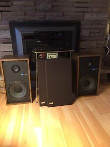 Vintage 1976 Sony SS-955 Speakers-Mint!!!!