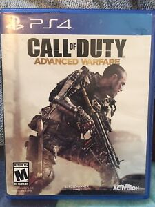 PS4 GAME: ADVANCED WARFARE