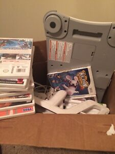Nintendo Wii + Wii fit board, 20+ games and controlers !!!