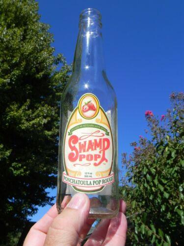Swamp Pop Soda Bottle 12 oz Ponchatoula Pop Rouge
