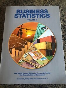 BUSINESS STATISTICS VOLUME 1 TEXTBOOK