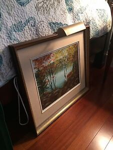 Original Framed Oil Painting by Edith Hinch